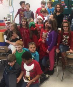 Kendall's Third grade class