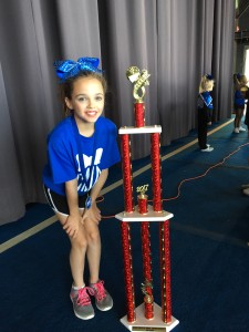 Lily's team won 1st place!