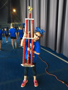 Kendall's mini team won 1st place!